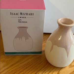 New Isaac Mizrahi Loves XO, Sienna Ceramic Vase